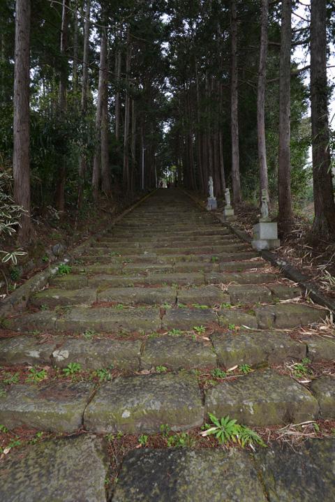 この,長~い階段と同じのが,あと3つくらいあります・・・。